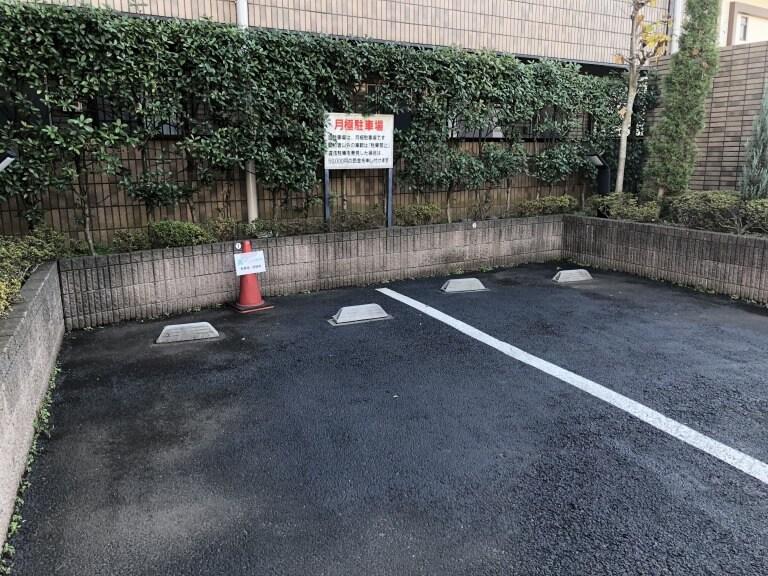 板橋区成増・下赤塚の姿勢矯正『ほぐしわん整体院』には専用の駐車場があります。